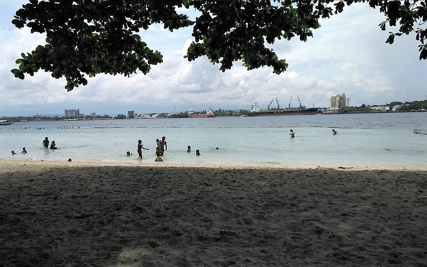 Beach at Samal Island