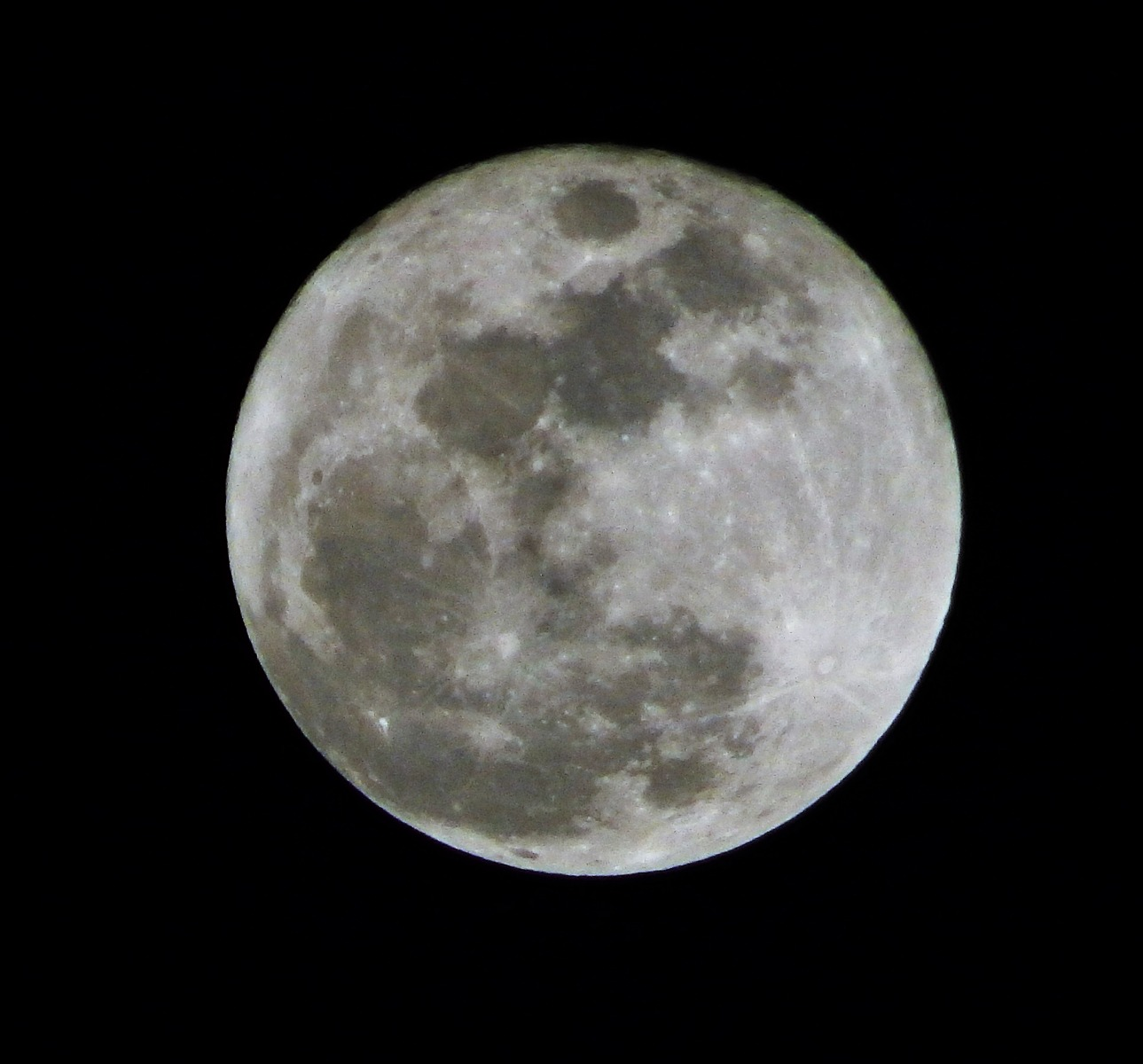 A full moon is easy to capture here ...
